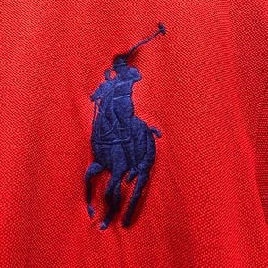 Polo by Ralph Lauren Shirts - Red Polo Shirt